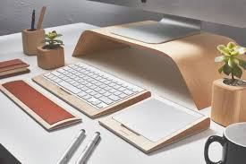 grovemade expands desk collection with trackpad tray