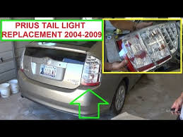how much to fix a tail light toyota prius tail light removal and replacement toyota prius xw20