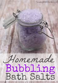 lavender bubbling bath salts easy homemade gifts homemade gifts