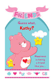 happiness is a friend like you greeting card happy birthday