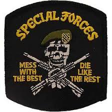 best patch special forces mess with the best embroidered patch 3