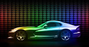 dodge viper gtc invites you to taste the rainbow autoevolution