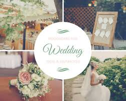 green u0026 pink wedding mood board photo collage templates by canva
