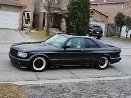 1986 mercedes 560 sec 1986 mercedes 560sec amg 6 0 widebody german cars for sale