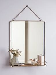 Wall Vanity Mirror Bathroom Mirrors Triple Folding Wall Vanity Mirrors For Bathrooms Uk