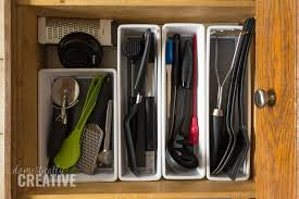 how to organise kitchen utensils drawer simple kitchen utensil drawer organization domestically