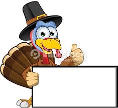 up thanksgiving turkey thanksgiving turkey blank board and thumbs up vector thinkstock