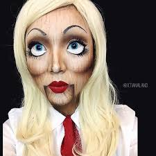 Creepy Doll Halloween Costume 25 Doll Makeup Ideas Baby Doll Makeup