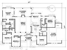 4 Bedroom Single Story Floor Plans 2500 Sq Ft One Level 4 Bedroom House Plans House Plan Four