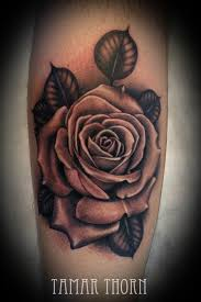 25 best black and grey realistic rose tattoo images on pinterest