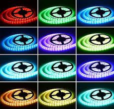 bluetooth smart led light strip kit color changing tape lights