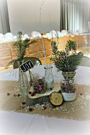 Rustic Christmas Centerpieces - christmas center table decorations christmas lights decoration