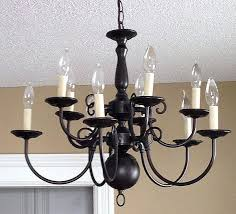 Painted Chandelier Brass Chandelier Lighting Best Brass Chandelier Makeover Ideas On