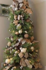 Raz 2013 Forest Friends Decora - christmas tree decorated with silk flowers dried grasses frosted