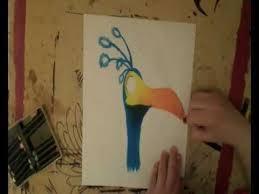kevin bird drawing