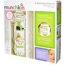 munchkin 6 shelf closet organizer