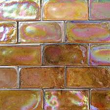 Best Kitchen Backsplash Images On Pinterest Kitchen - Bronze backsplash tiles