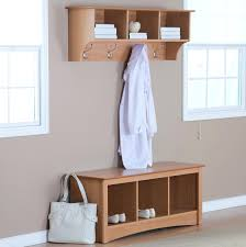 Coat Rack Bench Utility Room Shoe And Coat Storage Could Add Another Rack Under