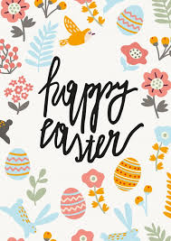 happy easter cards happy easter with pattern happy easter send real postcards online