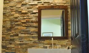 Natural Stone Showers Stacked Stone Veneer Panels For Shower Walls - Stacked stone veneer backsplash