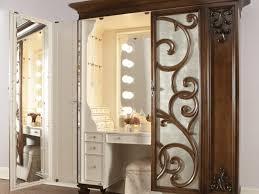 Lighted Bedroom Vanity Set Bedroom 48 Vanity Makeup Mirror Stunning Bedroom Vanity With