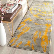 Yellow Runner Rug Safavieh Yellow Runner 1 2 Area Rugs Rugs The Home Depot