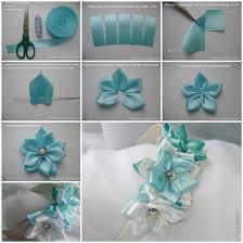 chagne satin ribbon how to make pretty satin ribbon hairband satin and flowers