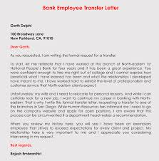 Transfer Request Letter In Bank correct format to write a transfer request letter with sles