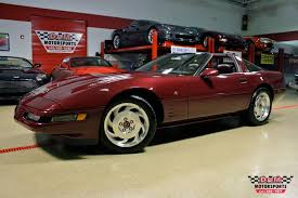 1993 corvette 40th anniversary 1993 chevrolet corvette 40th anniversary coupe stock m5375 for
