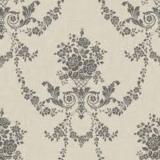 what is floral pattern in french french floral heather gray print wallcovering