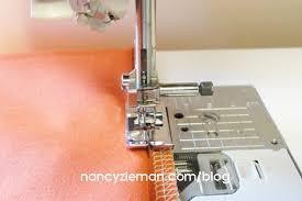 Blind Hem Presser Foot Absolute Easiest Way To Hem Anything By Nancy Zieman Nancy