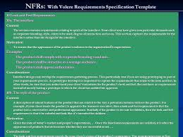 non functional requirements ppt download