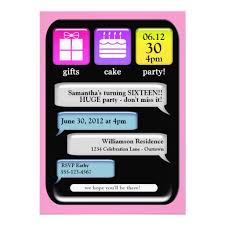 creative invitation birthday party text image with edit on