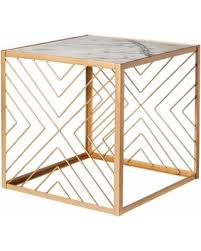 Marble Accent Table Amazing Deal On Accent Table Nate Berkus Square Gold Accent Table