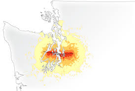 Seattle Earthquake Map by Seismic Neglect A Seattle Times Special Report