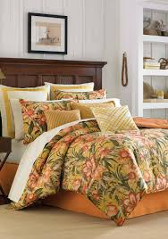 tommy bahama tropical lily comforter collection belk collection