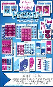 277 best frozen birthday printables images on pinterest frozen