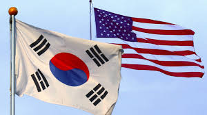 Flag Of South Korea Us South Korea To Stage Huge Military Exercise Despite North