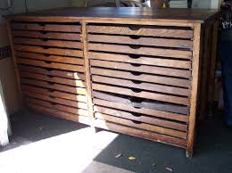 Rustic Wood File Cabinet by Wood Flat File Cabinet Private Sale For Arielle422000 Flat File By