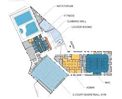 at t center floor plan mashouf wellness center features capital planning design