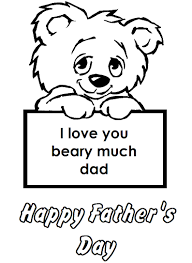 happy fathers day coloring pages printable happy fathers day