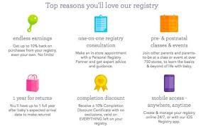 baby registry stores earn 10 back when you start a babies r us registry mexicouponers