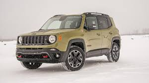 jeep renegade trailhawk blue 2015 jeep renegade trailhawk winter drive review autoweek