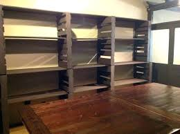 basement storage ideas simple and comfy heavy framed shelving rv