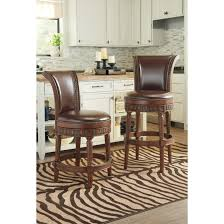 North Shore Dining Room by North Shore Nailhead Trim Swivel Stool Multiple Sizes By Ashley
