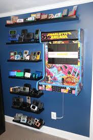 my retro gaming wall imgur gaming room pinterest arcade