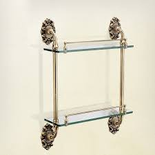 Bronze Bathroom Shelves 45 Bathroom Shelves Accessories Wulan Hanging Bathroom Shelf Four
