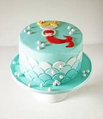 the mermaid cake behance