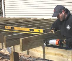 cantilevered deck diy build a freestanding cantilevered deck extreme how to