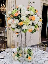 bling centerpieces for a glamorous wedding